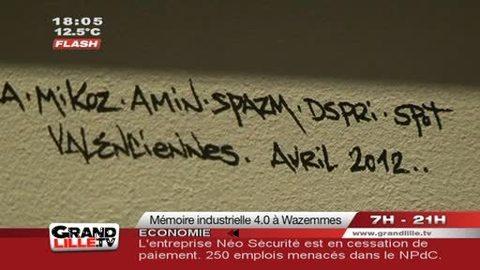 Expo : Mémoire Industrielle 4.0 à Lille Wazemmes