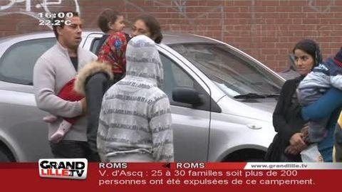 Expulsion de Roms à Villeneuve d'Ascq