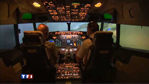 Faire comme si vous étiez le pilote de l'avion