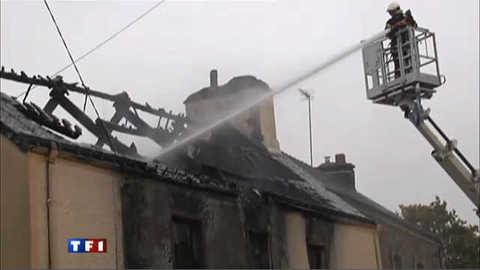 Une famille de Bignan périt dans l'incendie de sa maison