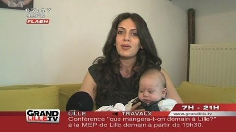 Une famille iranienne menacée d'expulsion à Loos