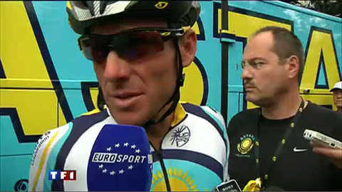 Fascinant Lance Armstrong...