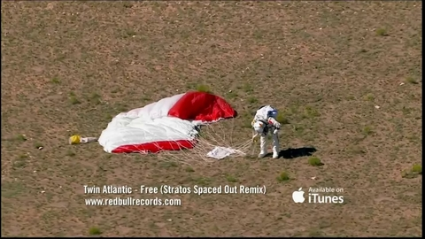 Felix Baumgartner's Supersonic Freefall - Mission Highlights - Red Bull Stratos
