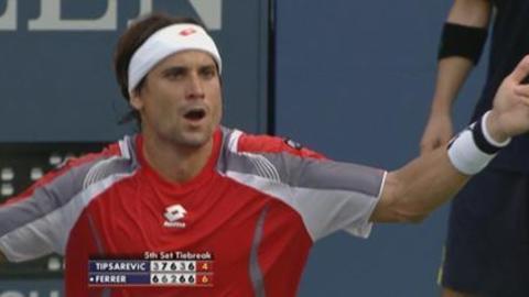 Ferrer était nerveux
