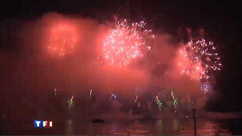 Le festival d'art pyrotechnique de Cannes, un émerveillement de tous les sens