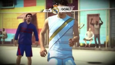 FIFA Street : Barca vs Real Madrid