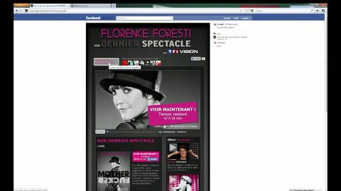 FILM DEMO APPLICATION VOD TF1 VISION / FACEBOOK _ FLORENCE FORESTI
