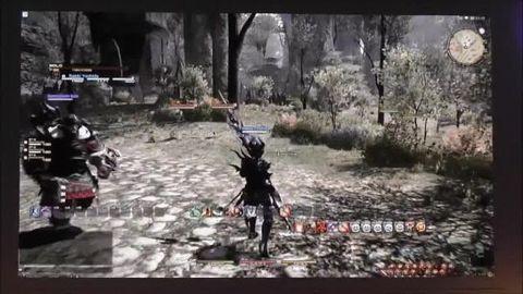 Final Fantasy 14 A Realm Reborn : 20 mins gameplay !!! (Gamescom 2012)