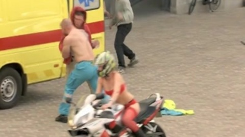 Flashmob: gunfire shatters pease in tranquil Belgian town square