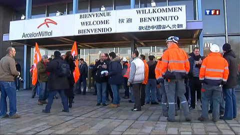 Florange : les salariés d'Arcelor-Mittal mobilisés