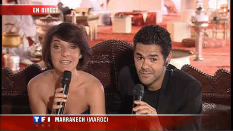Florence Foresti et Jamel Debbouze à Marrakech pour rigoler