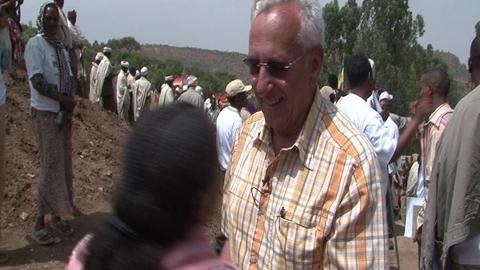 Fondation Yves Rocher en Ethiopie : scène de vie dans une école
