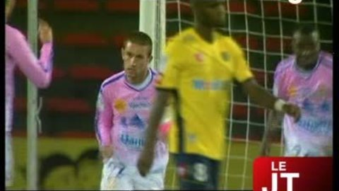 Football : Evian s'incline face à Sochaux (2-3)