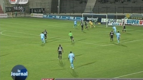 Football / Ligue 2: Tours - Amiens (1 - 1)