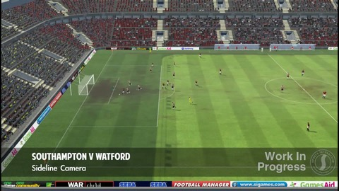 Football Manager 2012 - Présentation match HD
