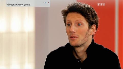 Formule 1 : Romain Grosjean à coeur ouvert (11/03/2012)
