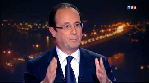"""François Hollande : """"Il n'y a pas de troc avec les Ecologistes"""""""