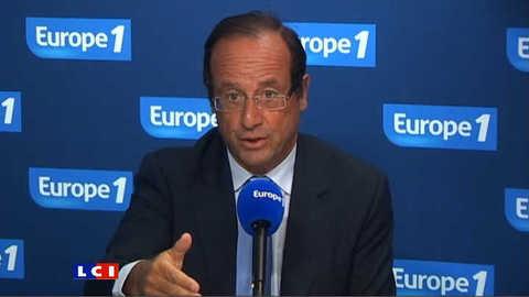 """François Hollande : """"Nicolas Sarkozy a fait des concessions majeures au détriment de l'UE"""""""