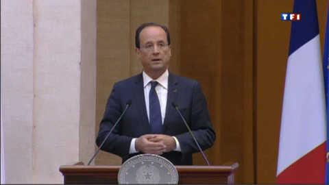 """François Hollande : """"nous avons confiance dans le peuple grec"""""""