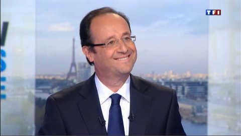 """François Hollande sur TF1 : """"Moi, je ne change pas d'avis"""""""