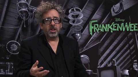 Frankenweenie : interview de Tim Burton