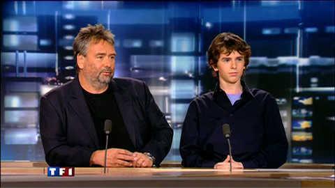 """Freddie Highmore à Luc Besson : un 4e Arthur ? """"J'espère !"""""""