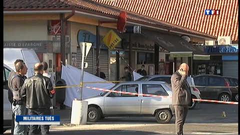 Fusillade meurtrière à Montauban : deux militaires tués