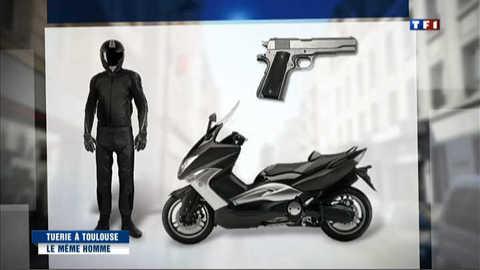 Fusillade de Toulouse : même arme et même scooter qu'à Montauban