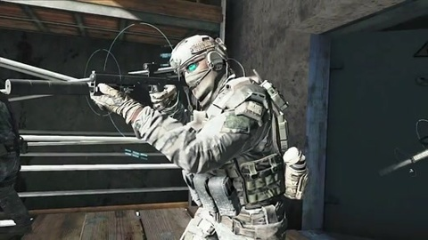 Ghost Recon Future Soldier : Making of trailer