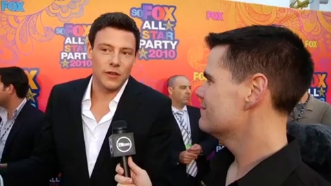 Glee - Cory Monteith parle de Rachel et Finn