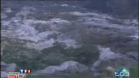 Glissements de terrain : état d'urgence en Italie