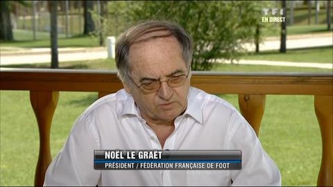 Le Graet ne veut pas se précipiter pour Nasri (24/06/2012)_V2