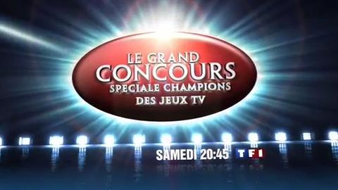 LE GRAND CONCOURS SPÉCIALE CHAMPIONS DES JEUX TÉLÉ - SAMEDI 4 AVRIL 2009 20:45