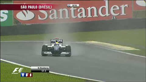 Grand Prix du Brésil : qualifications sous la pluie