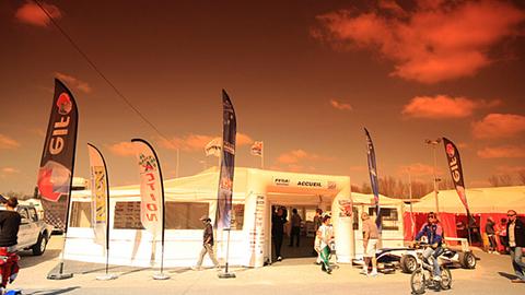 Grand Prix Open Karting de France: ambiance paddock