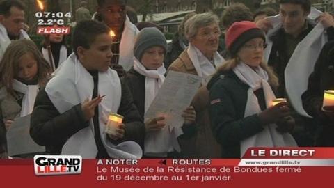 Grande Marche de Noël à Villeneuve d'Ascq