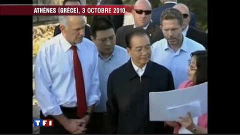 La Grèce rachetée par la Chine ?