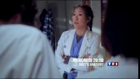 GREY'S ANATOMY - Mercredi 1er octobre 2008 à 20h50