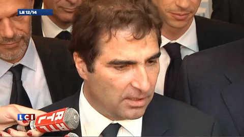 Groupe UMP à l'Assemblée : 1re réaction de Christian Jacob réélu (vidéo)