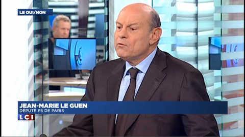 """Le Guen """" Oui, JF Copé a dérapé, et à plusieurs reprises """""""