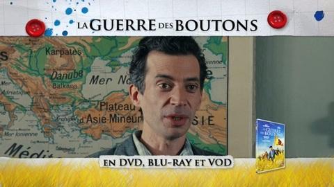 LA GUERRE DES BOUTONS Teasing DVD le 14 janvier