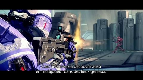 Halo 4 Making of - Premier aperçu VOSTFR