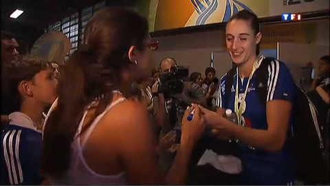 Handball féminin : les larmes de la défaite