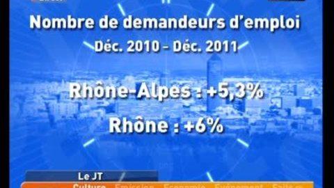 Hausse du chômage dans le Rhône