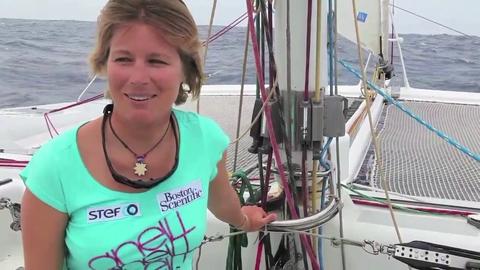 Hébert jette l'éponge et abandonne sa tentative de Transatlantique en windsurf