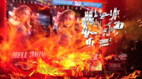 Hell Driver - Spot TV DVD-