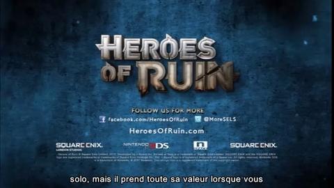 Heroes of Ruin - Bande-annonce multijoueur