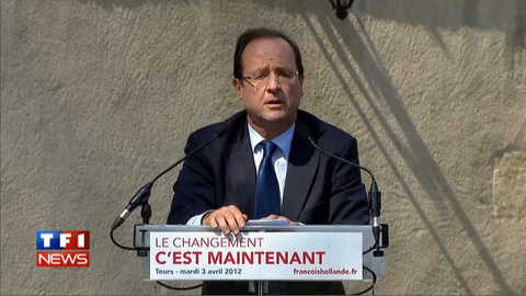 Hollande dénonce un «projet caché» de Sarkozy
