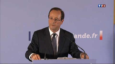 """Hollande et le """"discours churchillien"""" de Sarkozy..."""