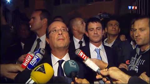 Hollande à Echirolles, banlieue meurtrie
